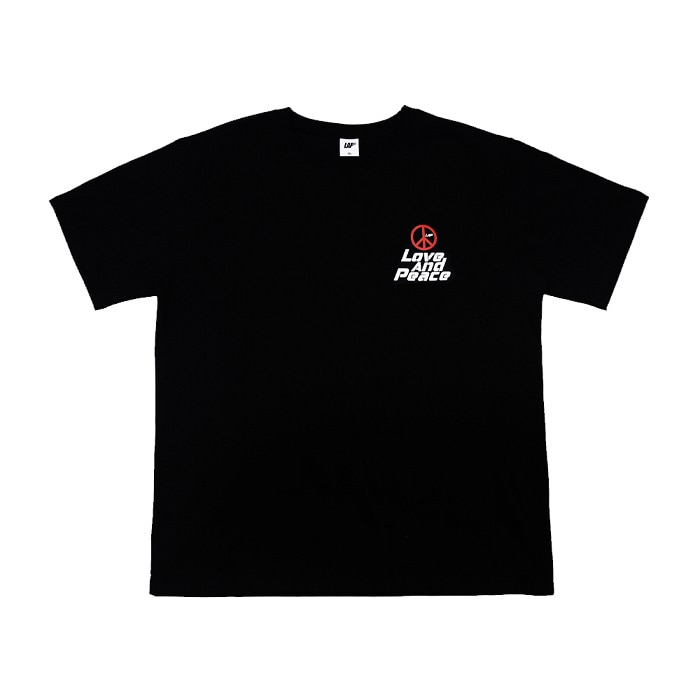 LOVE AND PEACE T-SHIRT_BLACK