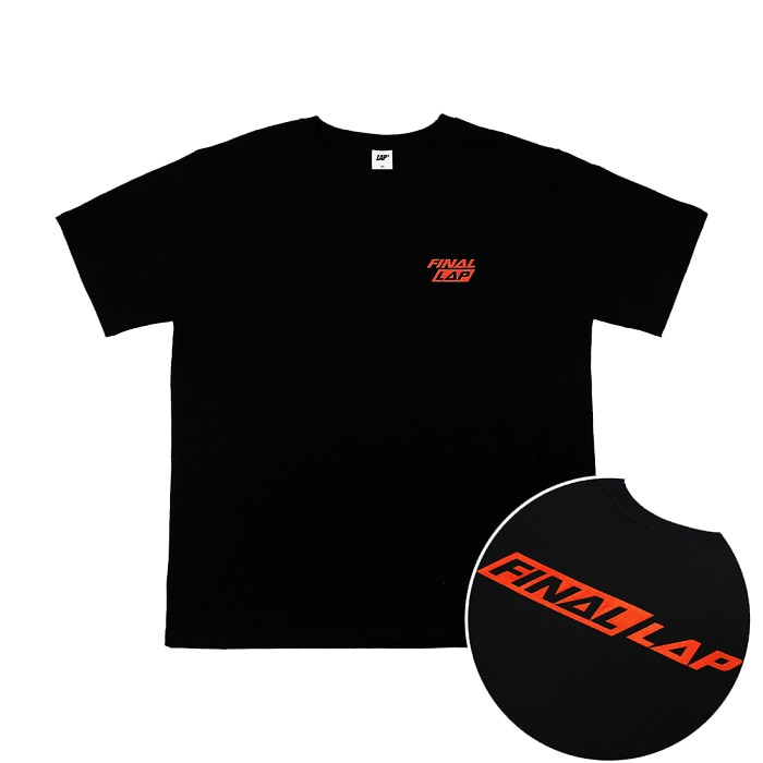 FINAL LAP LOGO T-SHIRT_BLACK